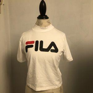 FILA Mock Neck Shirt